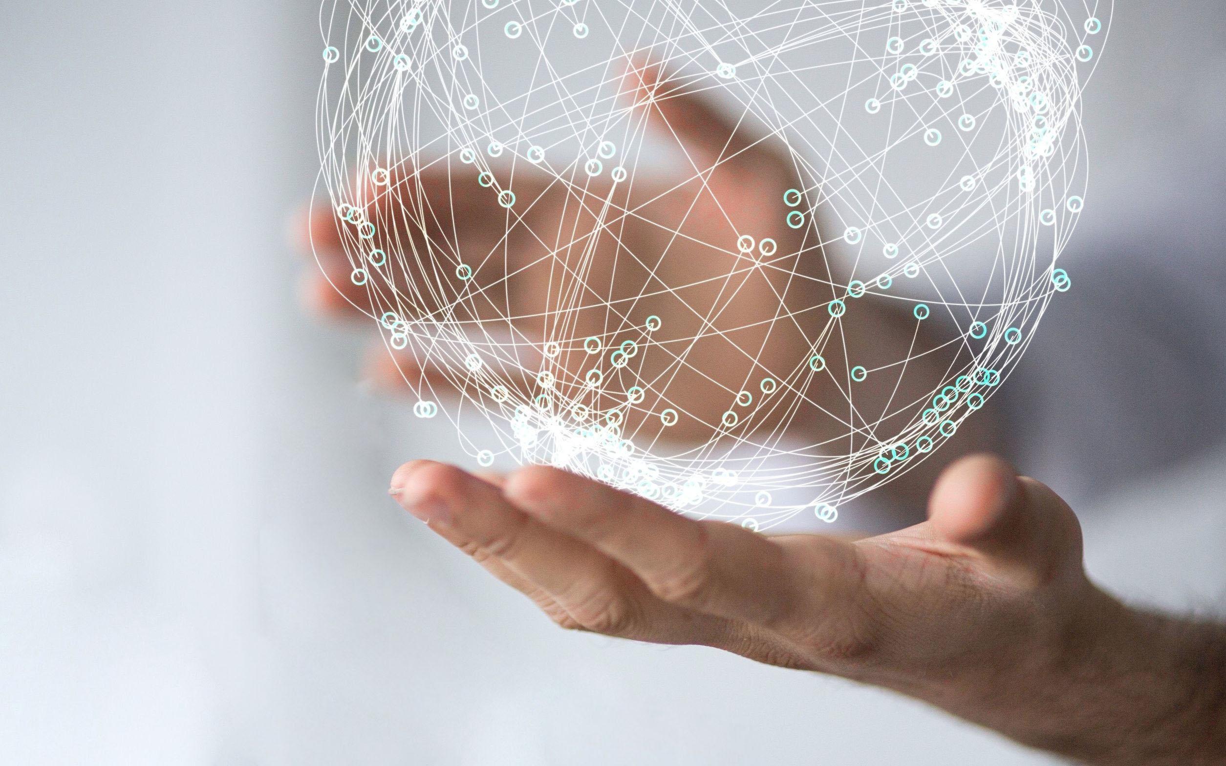 internet in hands