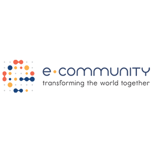 E-community logo